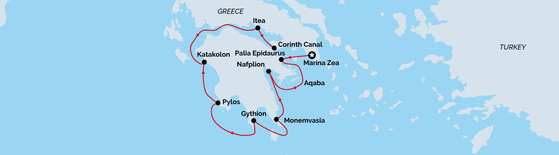 Map Greece Antiquity