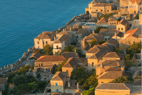 Unforgettable Cruises, Monemvasia