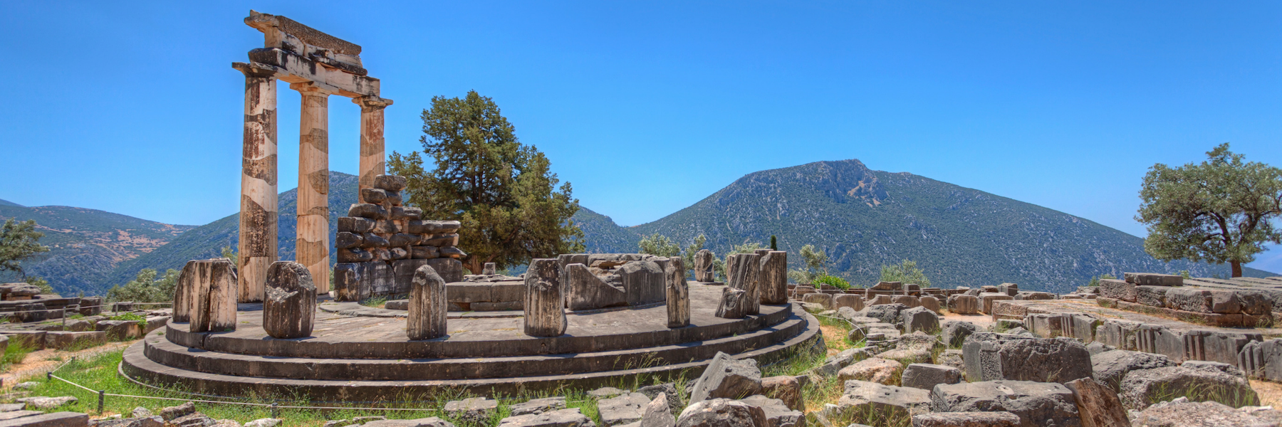 Tholos at Delphi, Unforgettable Cruise