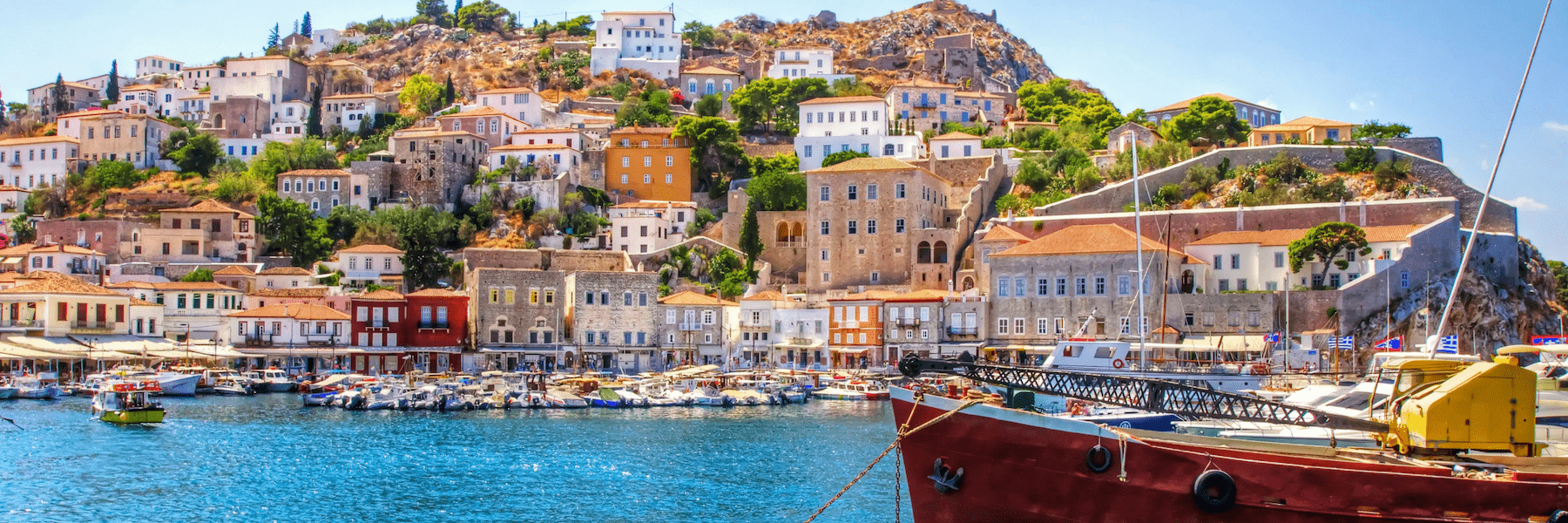 Hydra, Small Ship Cruises in Greece