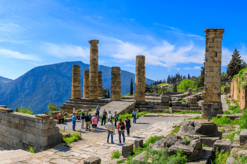 Delphi, best day trips from Athens