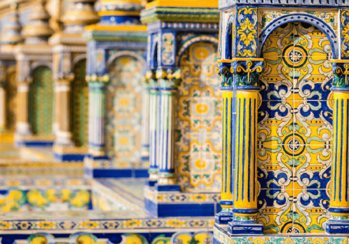 Tiles and architecture in Seville
