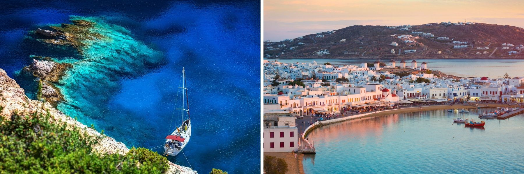 Greece, Unforgettable Crusies